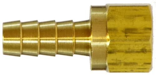 Female 45 Deg Flare Swivel I 5/16 X 3/8 HB X FEM FLARE SWIVL - 32327