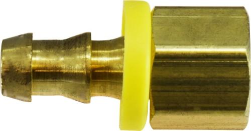 Short Tube Nut 1/4 X 1/8 POHB X FIP ADAPTER - 30220
