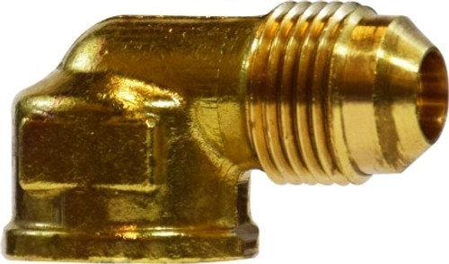 90 Deg Female Elbow I 1/2 X 1/2 LP M FLARE X FIP ELBOW - 10325L