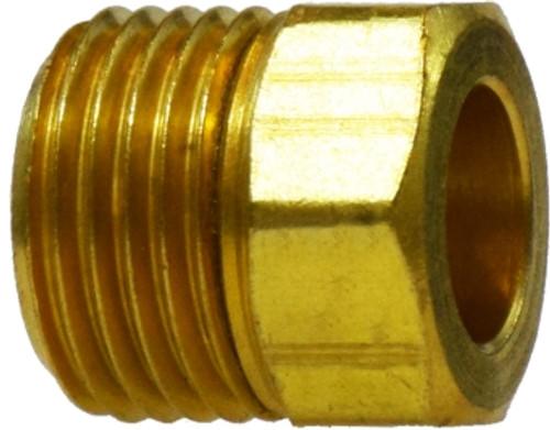 Inverted Flare Brass Nut 5/16 INVERTED FLARE BRASS NUT - 12015