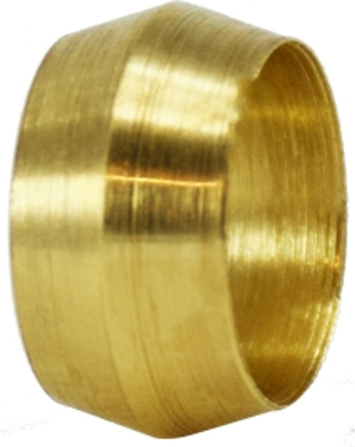 Brass Sleeve 1/8 COMPRESSION SLEEVE - 18001