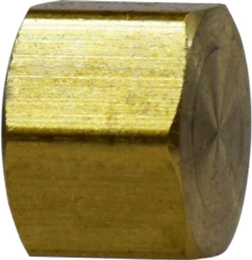 Cap 1/4 COMPRESSION HEX CAP - 18047