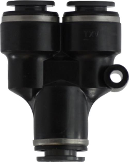 DOT Composite Body Push-In Union Y 1/4 X 3/8 PUSH-IN Y COMPOSITE - 620409C