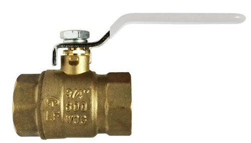 Lead Free China Ball Valve-NSF Listed--IPS and SWT 2 FXF LEADFREE CSA FULL PORT BALL VALVE - 941158LF
