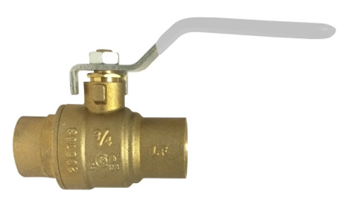 Lead Free Ball Valves AGA UL FM IPS and SWT 1 1/2SWT FP BALL VALVE AB-1953 - 943616LF