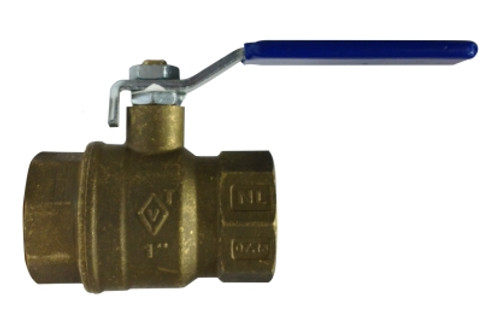 Lead Free Italian Ball Valves-Threaded and Sweat 1 1/2 LEAD FREE CSA FULLPORT BALL VALVE - 943237LF