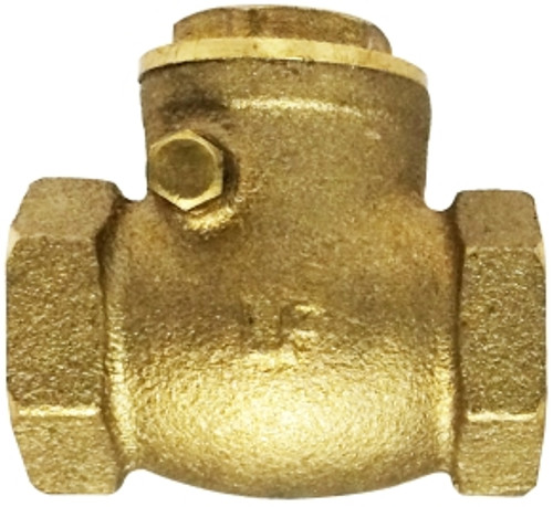 Lead Free Swing Check Valve 1 FIP SWING CHECK VALVE LEAD-FREE - 940354LF