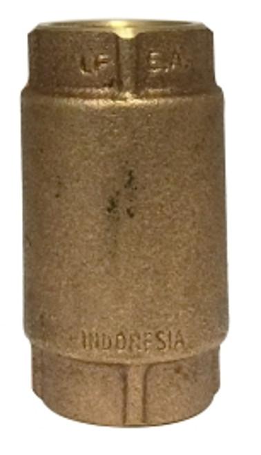 Brass Inline Check Valve 1 LEAD FREE CHECK VALVE - 944432LF