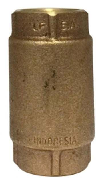 Brass Inline Check Valve 2 LEAD FREE CHECK VALVE - 944435LF