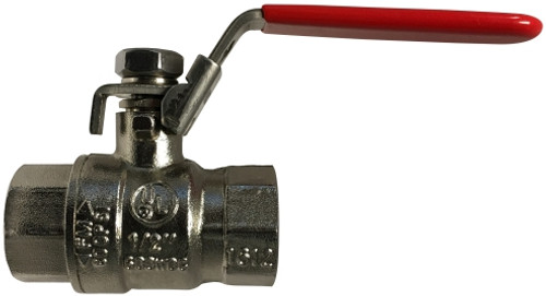 Workhorse Ball Valve Has Everything 11/2 NP UL FM CSA SS TRIM FP BV LKG HDLE - 941127NP