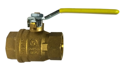 Italian Full Port Ball Valves 1 1/2 CSA FULL PORT BALL VALVE - 943206