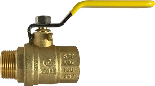 MIP X FIP 600# Full Port Ball Valve 1/2 MXF FULL PORT BALL VALVE UL APPROVED - 948172