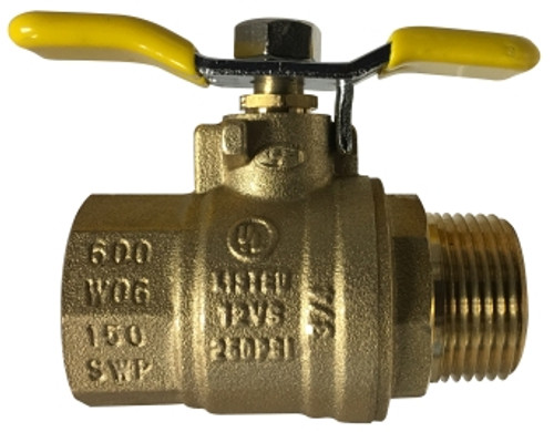 Male x Female Tee Handle Ball Valve 1/2 T-HANDLE MALE X FEMALE BALL VALVE - 948172T