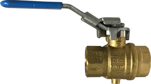 Full Port Locking Ball Valve 3/4 VENTED LOCKING BALL VALVE - 948134