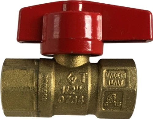 Gas Ball Valve Female x Female 1/2 IPS GAS BALL VALVE - 943212