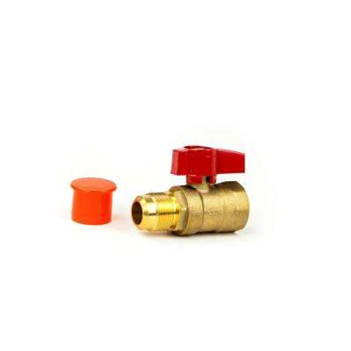 Appliance Connector Valve Female x Flare 3/4 FPT X 15/16 FLARE CSA GBV