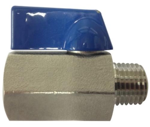 Mini Ball Valves 1/4 M X F 316 SS MINI BALL VALVE - 46931SS