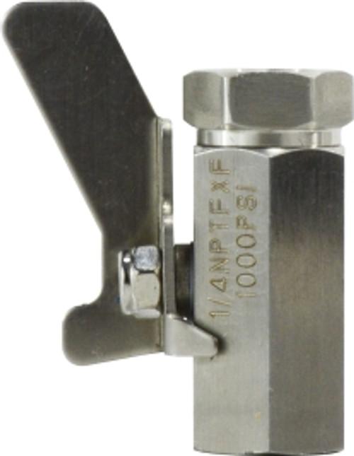 F X F SS 1,000# Mini Ball valve 1/4 FIP SS MINI BALL VALVE - 46922SS