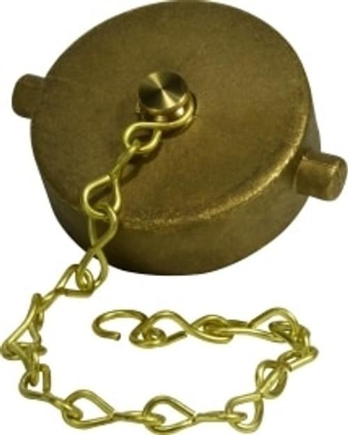 Cap 4 1/2 NST BRASS CAP - 444313