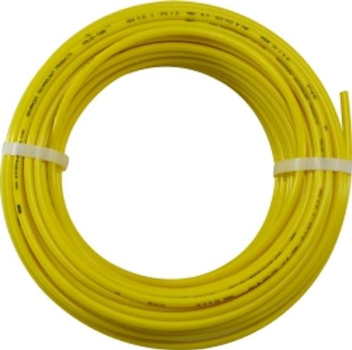 100 Yellow Polyethylene Tubing 3/8 OD YELLOW POLY TUBING 100 - 73206Y