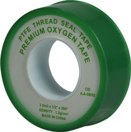 Green Oxygen Tape 1/2 X 260 GREEN OXYGEN TAPE - 982130
