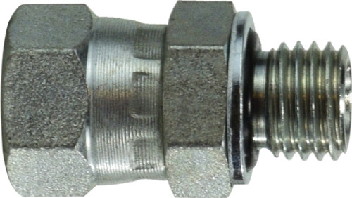 Straight Swivel 1/2X12X1.5 JIC SWVXMET THD ST - 7025512