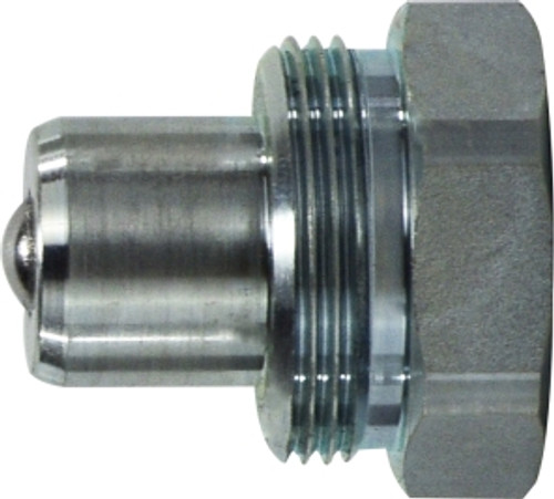 THREAD LOCK HYD JACK PLUG 1/4 HYD JACK THREAD LOCK PLUG - KZEB14PF