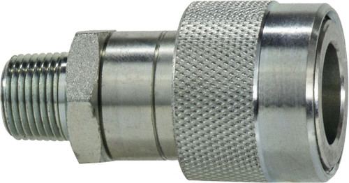 THREAD LOCK HYD JACK COUPLER 1/4 HYD JACK THREAD LOCK COUPLER - KZEB14SM