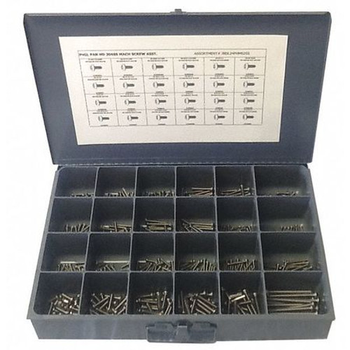 Stainless Steel Hex Head Cap Screw 18-8 Assortment