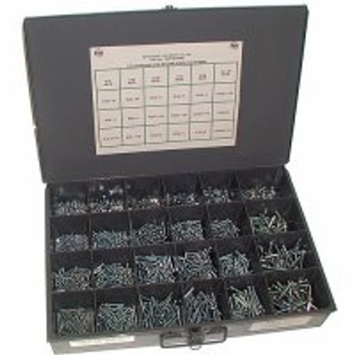 1900 Piece Phillips Flat Head Coarse Machine Screws and Nuts  Assortment/Kit