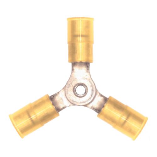 12-10 AWG Nylon 3-Way Connector  PK25 - E93226