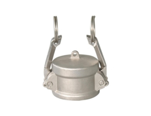 1  DUST CAP STAINLESS 316 - CDC-100-SS1