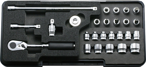 "Koken Z-Series P2285Z   1/4"" inch Socket Wrench Set (26 Pcs)"
