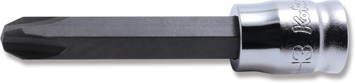 """Koken Z-Series 2000Z.50-3   1/4"""" Square Drive Phillips Bit Socket (50mm)"""