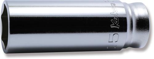 "KOKEN Z-Series 3300MZ-15   3/8"" Square Drive   6-Point Deep Socket"