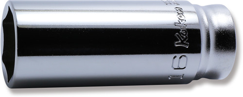 "KOKEN Z-Series 3300MZ-16   3/8"" Square Drive   6-Point Deep Socket"