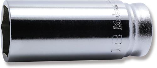 "KOKEN Z-Series 3300MZ-18   3/8"" Square Drive   6-Point Deep Socket"