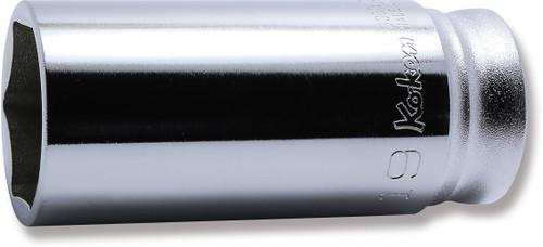 "KOKEN Z-Series 3300MZ-19   3/8"" Square Drive   6-Point Deep Socket"