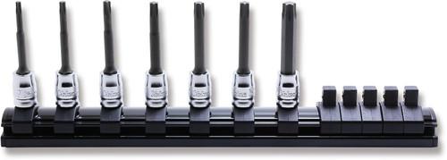 "Koken Z-Series 2025Z/7-L50   1/4"" Square Drive TORX Bit Socket Set (50mm)"