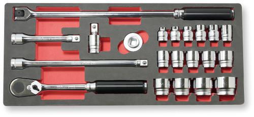 """Koken Z-Series 4285Z   1/2"""" Square Drive 21pcs Socket Set"""
