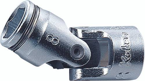"Koken 2441M-10   1/4"" Sq. Drive, Nut Grip Universal Socket"