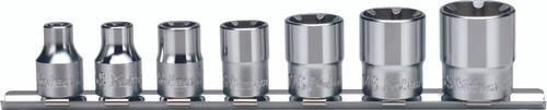 Koken RS3400LH/7   3/8 Sq. Drive, LHS Socket Set