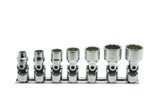 Koken RS3445W/7   3/8 Sq. Drive, 12-point Whitworth Universal Socket Set