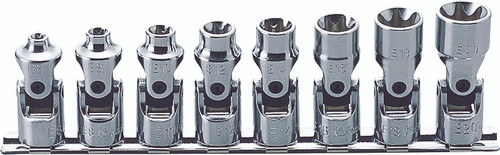 Koken RS3440T/8   3/8 Sq. Drive, TORX Universal Socket Set