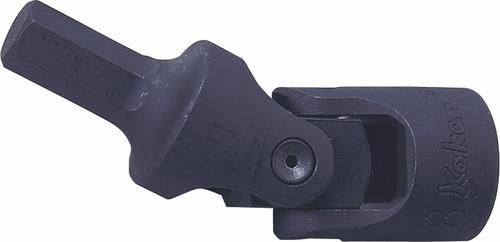 Koken 3430M-10 | 3/8 Sq. Drive, Universal Inhex Bit Socket