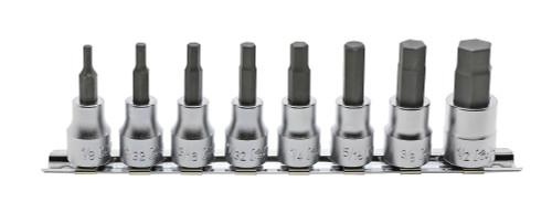 Koken RS3010A/8-L50 | 3/8 Sq. Drive, Inhex Bit Socket Set