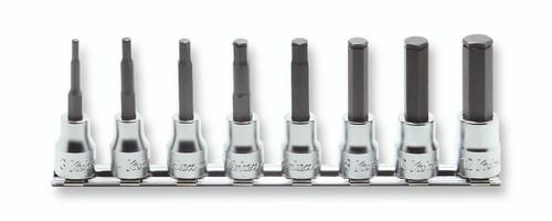 """Koken RS3015M/8-L100   3/8"""" Sq. Drive, Inhex Socket Set"""