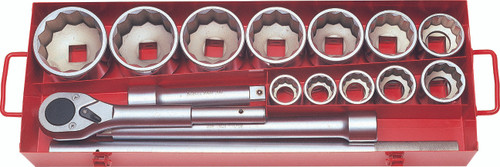"Koken 8225M | 1"" Sq. Drive, Socket Set"