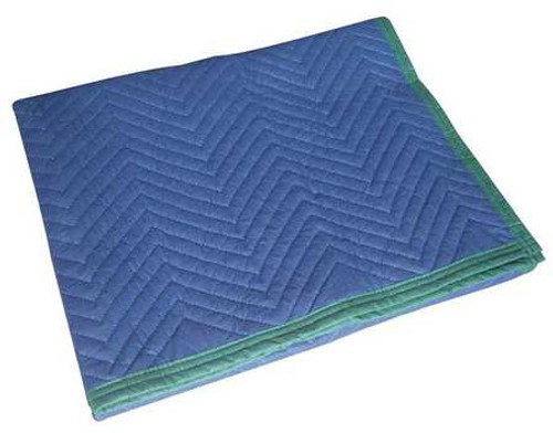 "72"" X 45"" Quilted Moving Pad - Blue"