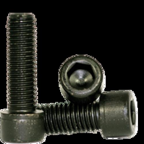 Socket Head Cap Screw, 12.9 COARSE ALLOY ISO 4762 / DIN 912  THERMAL BL - M8-1.25x18 MM (FT), Qty 100